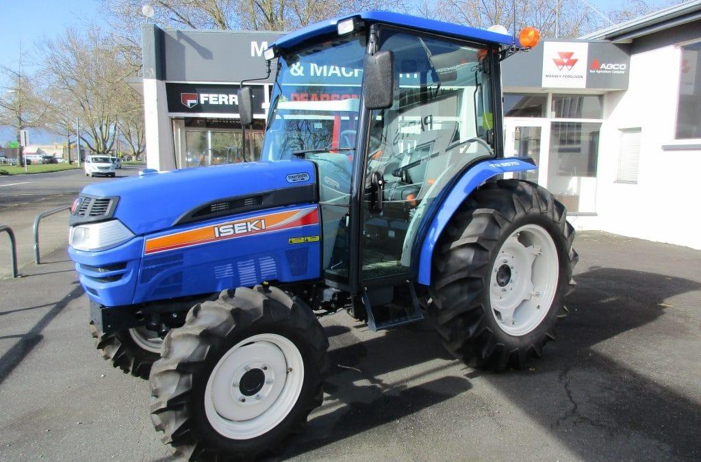 Iseki TG5570 Cab Tractor.